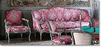 French Country Sofas French Settee Rococo Inspired French Country Sofa