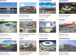 russia world cup cities map world cup russia 2018 cities and map where to go in 2018