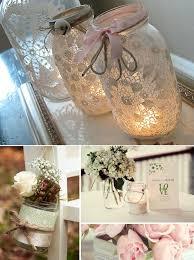 jar ideas for weddings best 25 lace jars ideas on jar crafts deco