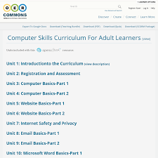 microsoft word curriculum computer skills curriculum for learners unit 10 microsoft