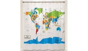 Shower Curtain World Map Luxury World Map Shower Curtain U2014 Bitdigest Design World Map