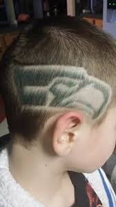 seattle barbers that do seahawk haircuts seattle seahawks haircut and color hair i like pinterest