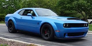 2018 dodge challenger srt demon hd wallpapers photos 2018 dodge challenger srt demon in gorgeous b5 blue cars