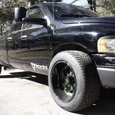 wheel offset 2004 dodge ram 2500 super aggressive 3 5 stock