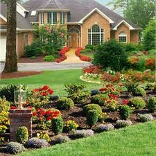decorating home with flowers exquisite home landscaping ideas for small yards exterior round