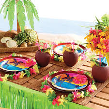 Tropical Party Themes - get 10 off your orders this summer partyrama blog
