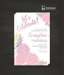 printable bridal shower invitations 210 best wedding invitation templates free images on