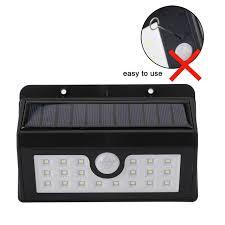 easy power emergency light ip64 waterproof 4 20 leds solar light white solar power outdoor