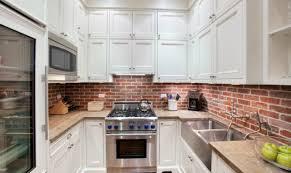 briques cuisine cuisines credence de cuisine briques mur crédence de cuisine