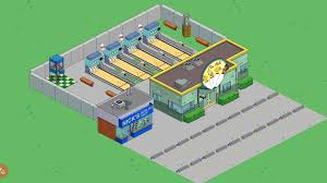 Simpsons Floor Plan Simple Town Designs Rooftop Bowlingthe Simpsons Tapped Out