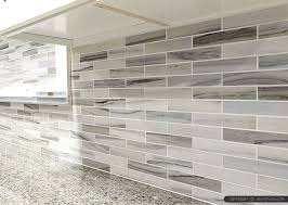 backsplash tiles kitchen gray white some brown tones modern subway kitchen backsplash tile