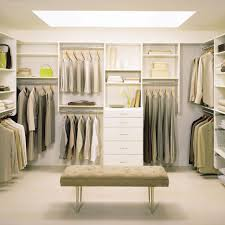 adorable walk incloset design exposed neatly organized system with