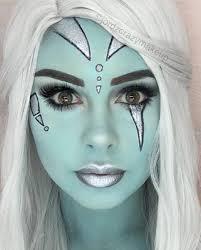 25 creative halloween makeup ideas