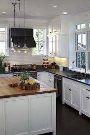 White Kitchen Cabinets With Black Granite 17 Best Ideas About Black Granite Countertops On Pinterest