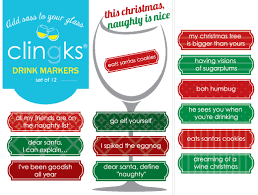 themed sayings clingks drink markers happy hour