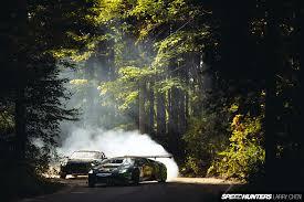 Lamborghini Veneno Drifting - battle drift mustang vs lambo speedhunters