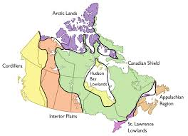 Map Of Canada Map Of Canada Regions Rough Guides Throughout Regional All World