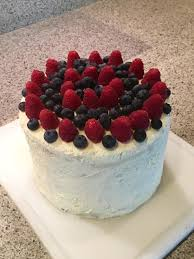 homemade early birthday cake for mom 6 layer berry cake with