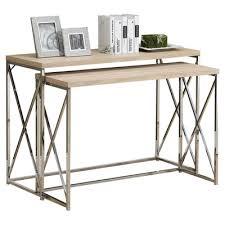 Nesting Desk Mercury Row Balog 2 Piece Console Table Set U0026 Reviews Wayfair