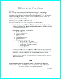 academic resume for college applications college admission resume template college admissions resume