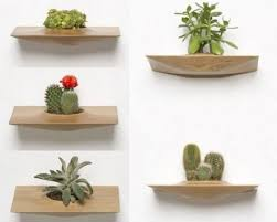 wooden plant pot 27 cute interior and funny garden pots wall
