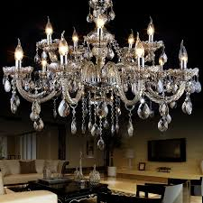 Chandelier Lamp Shades With Crystals Outstanding Chandelier Lampshades In The Dining Room With Three