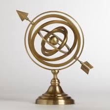 harry potter desk decor home accessory desk science gold copper circle arrow bedroom in