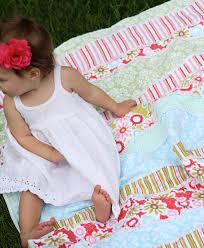 Duvet For Babies Do It Yourself Divas Diy Baby Rag Quilt