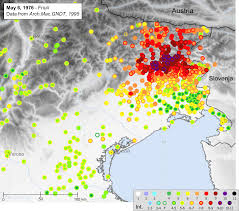 Italy Earthquake Map Bssa 101 6 Electronic Supplement To Bakun Et Al