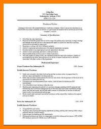Warehouse Packer Resume 100 Resume Warehouse Associate Resume Objective Resume