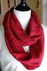 pink jersey knit infinity scarf with silver sequins measures