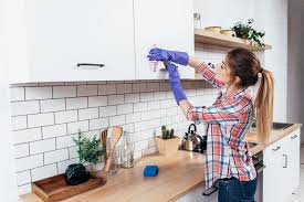 how to clean inside of cabinets how can i get kitchen cabinets to stop smelling