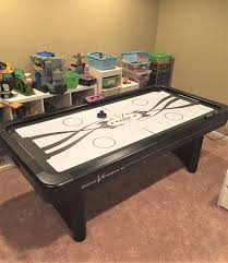 Air Hockey Coffee Table Delivery Installation Of A Brunswick V Air Hockey Table In
