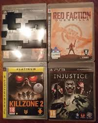 the bureau ps3 killzone 2 injustice faction guerrilla the bureau ps3