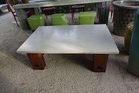 Reclaimed Wood Home Decor Concrete And Reclaimed Wood Coffee Table Mecox Gardens