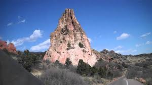 Garden Of The Gods Rock Formations The Praying Rock Formation In The Garden Of The Gods In