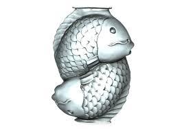 3d print model fish ornaments cgtrader