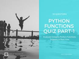 python functions quiz part 1 for beginner programmers