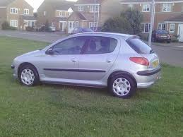peugeot 206 quicksilver used peugeot 206 2004 for sale motors co uk