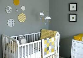 chambre de bébé garçon déco deco chambre bebe gris bleu decoration chambre bebe gris et