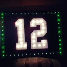 seahawks light up sign light up 12th man sign that thing called football go hawks