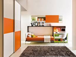 Wall Mounted Folding Bed Bedroom Delightful Orange Wall Mounted Folding Beds For Boys