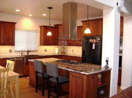 Kitchen Cabinet Island Ideas Ceiling Snazzy Kitchen Island Vent Hood In Chrome And Glass