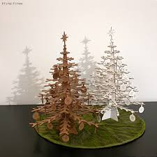 the top modern wood christmas trees if it u0027s hip it u0027s here
