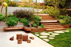 exterior garden design backyard designs idea mid century modern