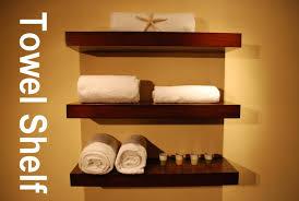 Decorative Bathroom Shelves by Wooden Wall Mounted Bathroom Shelves