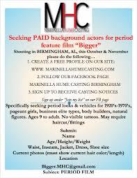 casting call for background actors closed film birmingham