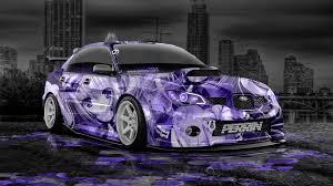 purple subaru impreza subaru impreza wrx sti jdm anime aerography city car 2014 el tony