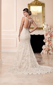 39 button back wedding dresses that impress happywedd com