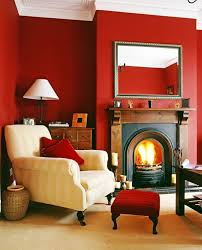 living room gray and red living room red accent wall color